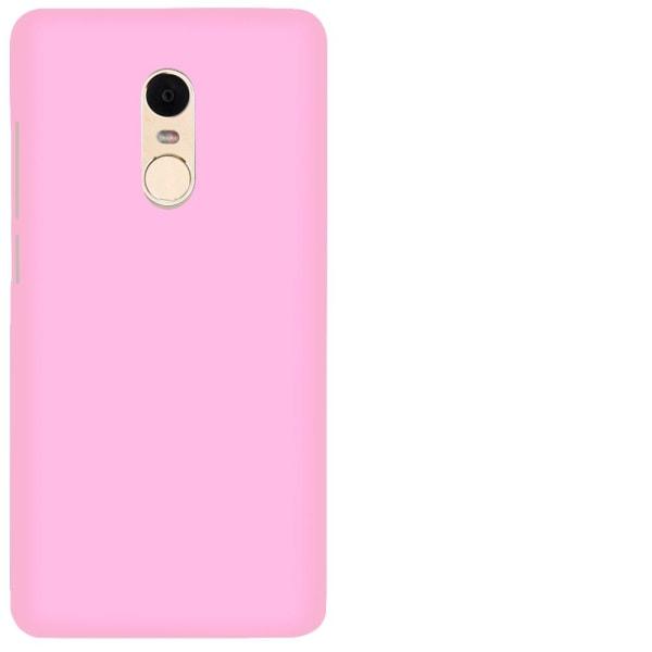 Matt Mjukt Skal för Xiaomi Redmi 4x Silikon Mobilskal Tunnt Stöt Rosa