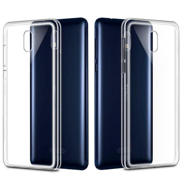 Mjukt Genomskinligt Mobil-Skydd för Nokia 3 Ultra-Slim TPU Klart Transparent