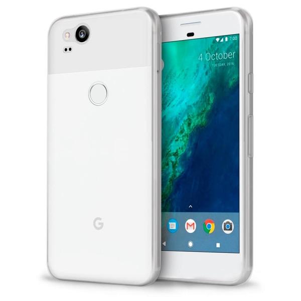 Mjukt Klart Tunnt Mobilskal för Google Pixel 2 Silikon Ultra-Sli Transparent