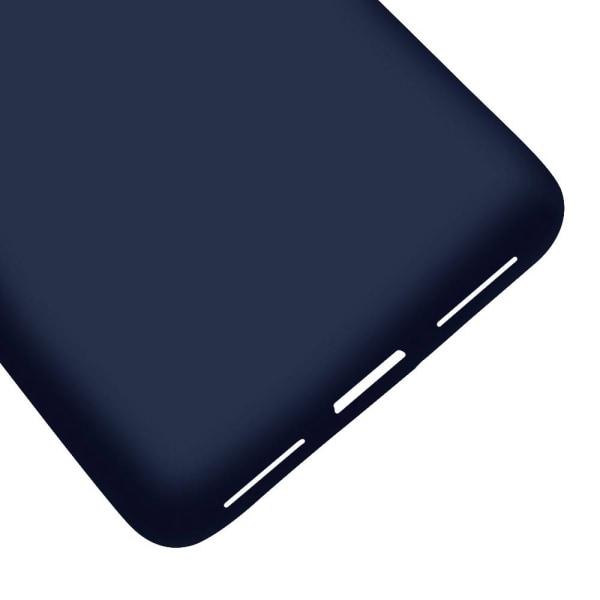 Mjukt Tunnt Mobil-Skydd för Xiaomi Redmi 4x Mobilskal Enfärgat M Mörkblå