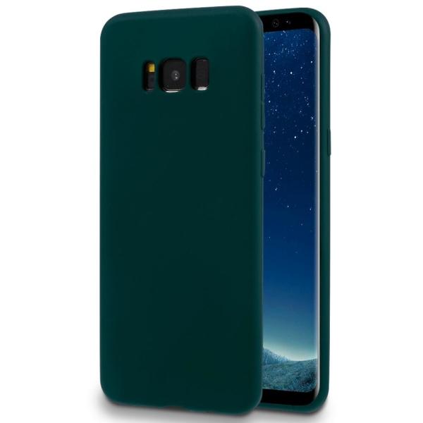 Mjukt Tunnt Mobilskal för Samsung Galaxy S8 Gummi Lätt Ultra-Sli Grön