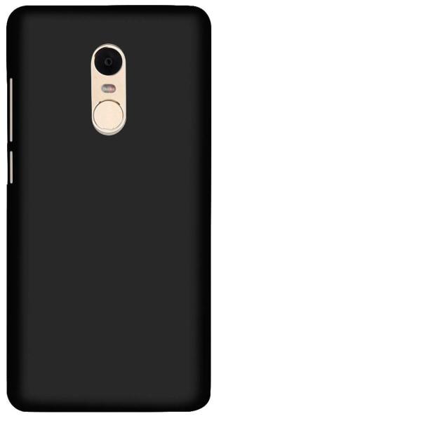 Mjukt Tunnt Mobilskal för Xiaomi Redmi 4x Stötsäker Telefon Lätt Svart