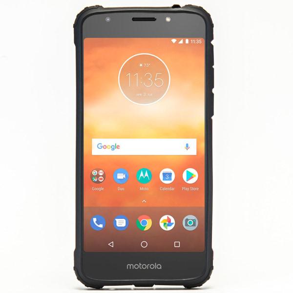Mobil Skydd till Motorola Moto E5 Plus | Hårt Hybrid Skal i Blå Blå
