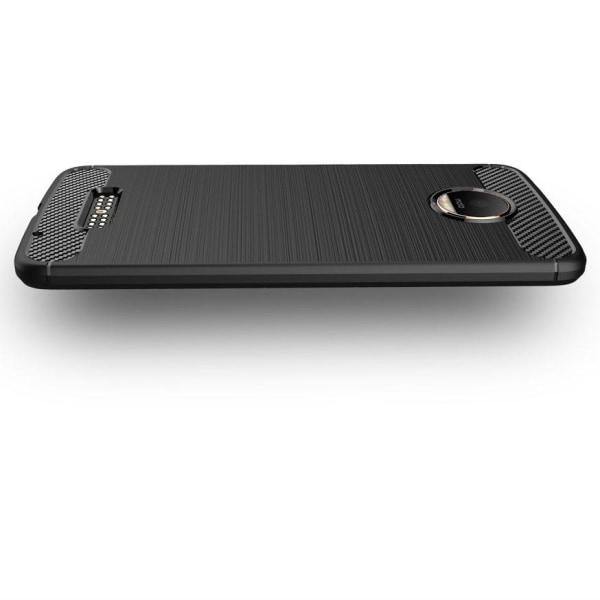 Skal Motorola Moto G4 Play Fodral Lenovo Skydd TPU Slim Armor Ko Svart