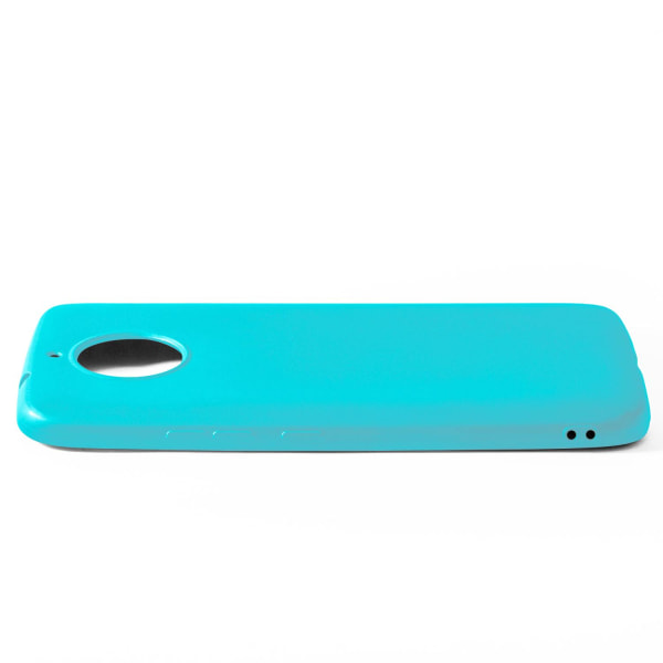 Skal till Motorola Moto G5s Cyan matt TPU Skydd Fodral Turkos