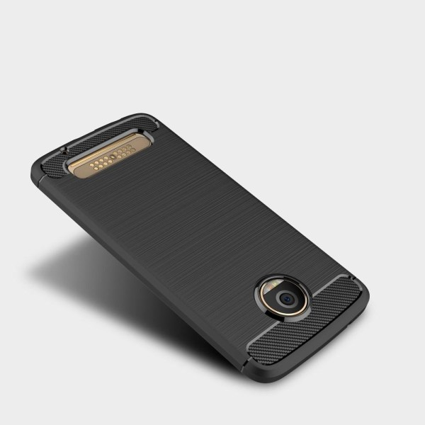 Skal till Motorola Moto Z2 Play Lenovo Fodral Skydd TPU Armor Ko Black