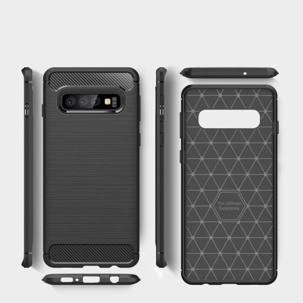 Skyddsfodral för Samsung Galaxy S10 5G | Svart Stötsäker Svart