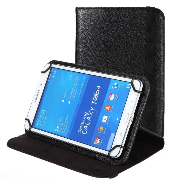Tabletfodral Mikrofiber för Universal 8 Zoll Ställfunktion TPU K Svart