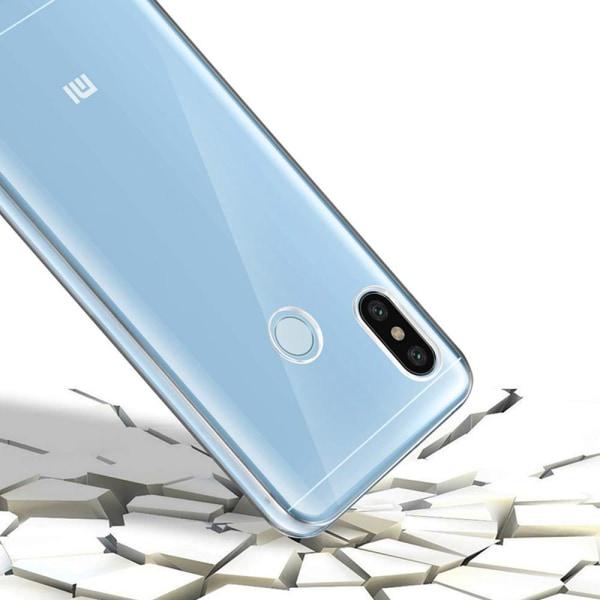 TPU Mobil-Skal för Xiaomi Redmi 4x Mobilskydd Genomskinligt Gumm Transparent