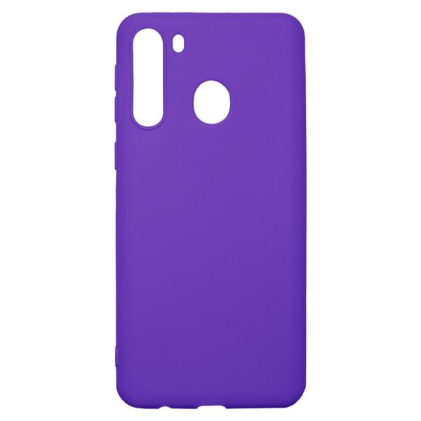 Ultra-Slim Case kompatibel med Samsung Galaxy A21 | I Lila | Lila
