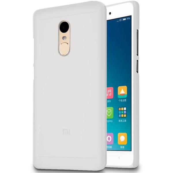 Ultra tunnt skal till för Xiaomi Redmi 4x Mjukt TPU Mobilskal Sk Vit