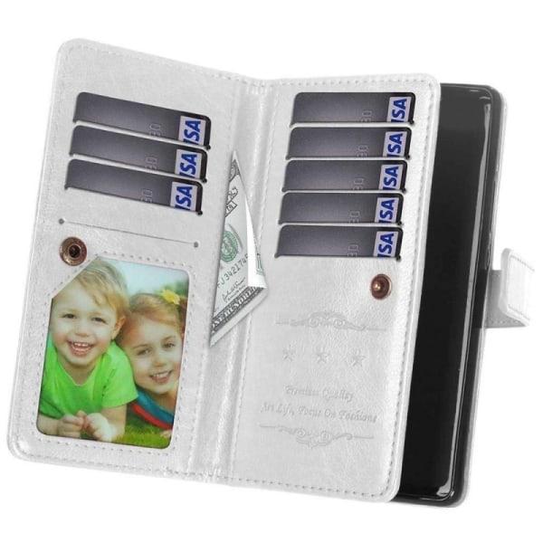Dubbelflip Flexi 9-kort Motorola Moto E4 Plus (XT1770) Rosa