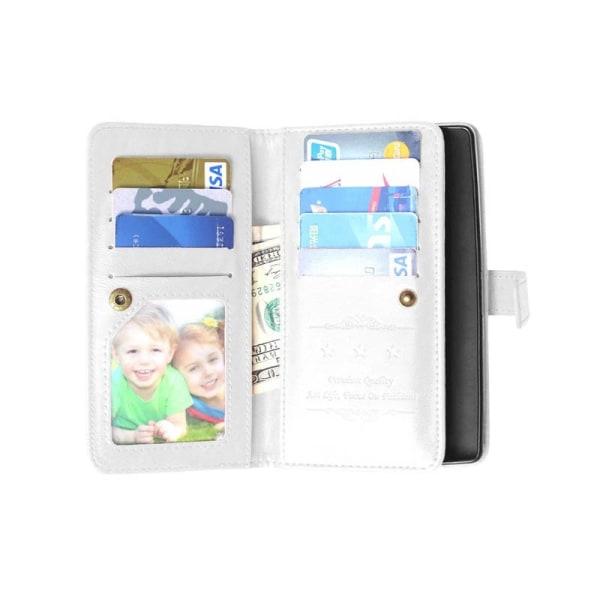 Dubbelflip Flexi 9-kort OnePlus 2 (A2005) Vit