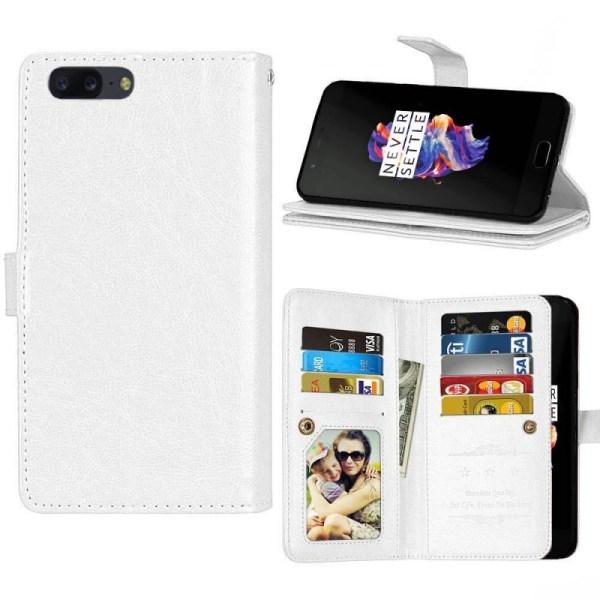 Dubbelflip Flexi 9-kort OnePlus 5 (A5000) Svart