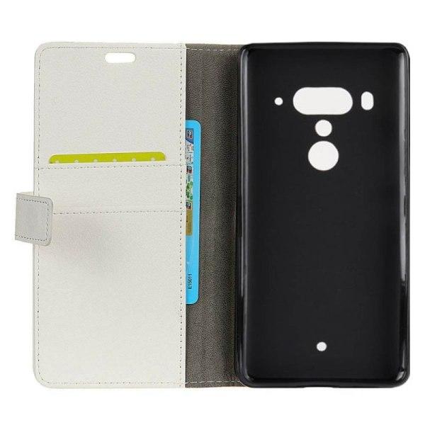 Mobilplånbok 2-kort HTC U12 Plus Vit