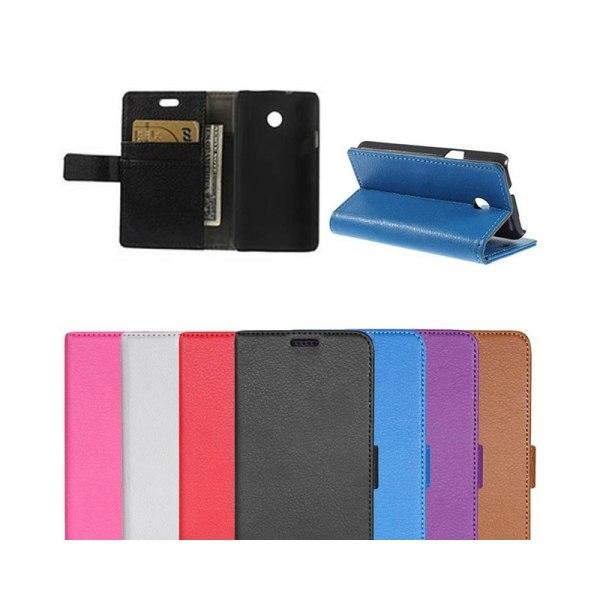 Mobilplånbok 2-kort Huawei Ascend Y330 Svart
