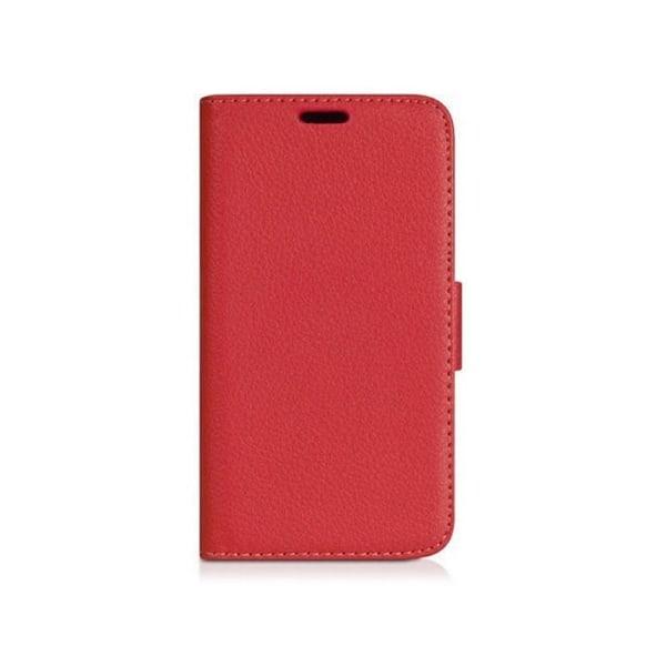 Mobilplånbok 2-kort Huawei Y360 Röd