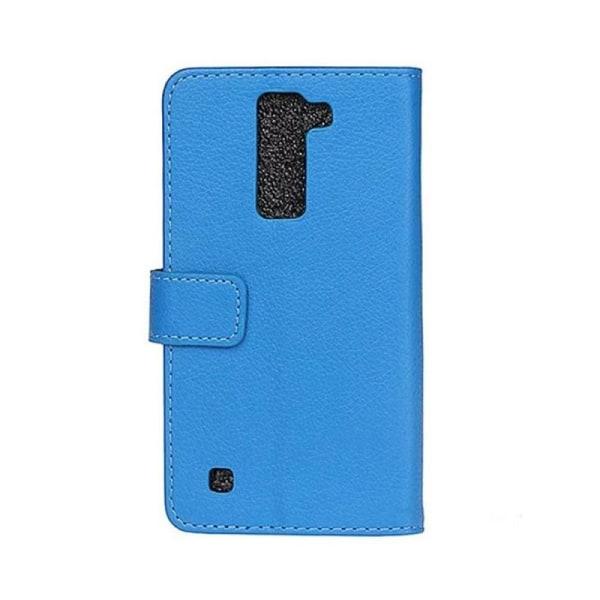 Mobilplånbok 2-kort LG K10 2016 (K420N) Blå