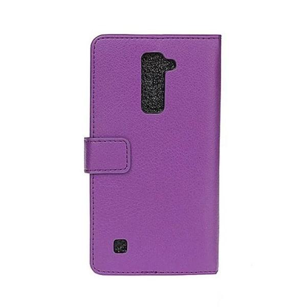 Mobilplånbok 2-kort LG K10 2016 (K420N) Lila