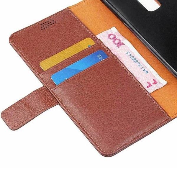 Mobilplånbok 2-kort LG K10 2016 (K420N) Vit