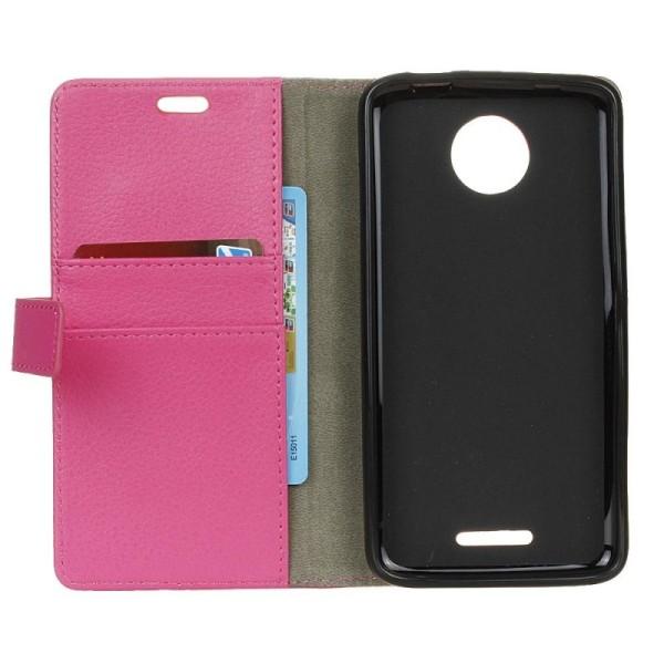 Mobilplånbok 2-kort Motorola Moto C Plus (XT1723) Svart