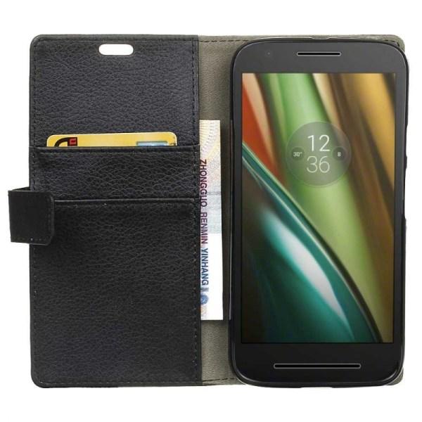 Mobilplånbok 2-kort Motorola Moto E3 (XT1700) Brun