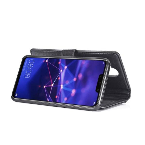 Mobilplånbok DG-Ming 2i1 Huawei Mate 20 Lite (SNE-LX1) Svart