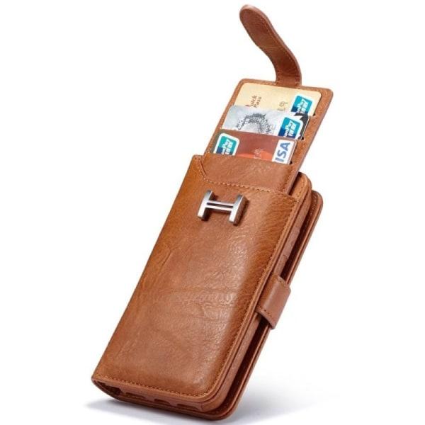 Multiplånbok 3i1 9-kort Samsung Galaxy S5 (SM-G900F) Röd