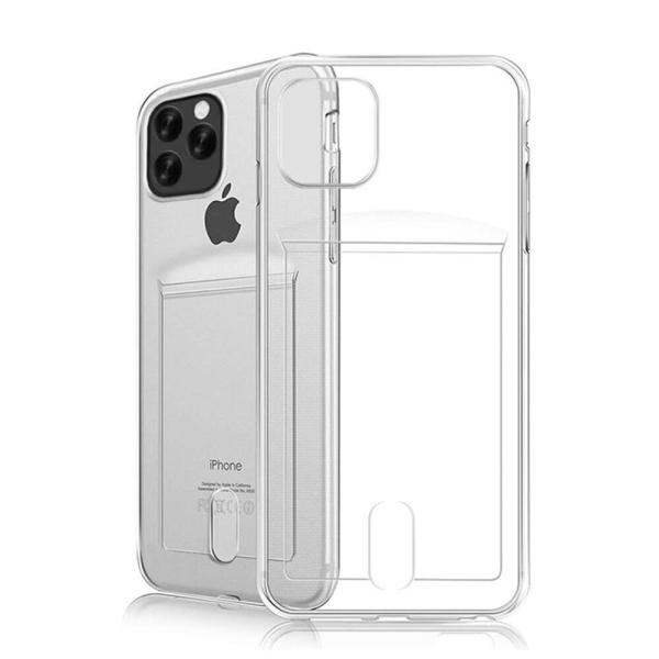 "Silikon skal med kortplats Apple iPhone 12 Pro Max (6.7"")"
