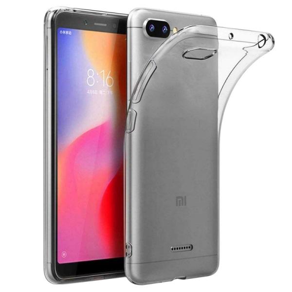 "Silikon skal transparent Xiaomi Redmi 6A (5.45"")"