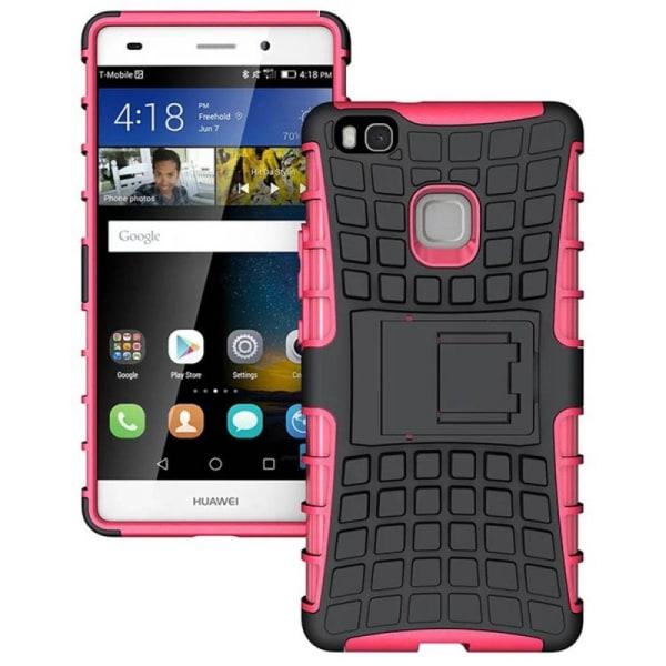 Stöttåligt skal med ställ Huawei P9 Lite (VNS-L31) Rosa