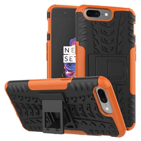 Stöttåligt skal med ställ OnePlus 5 (A5000) Orange
