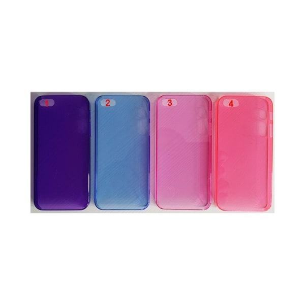 Transparent skal Apple iPhone 5, 5S, 5SE 1