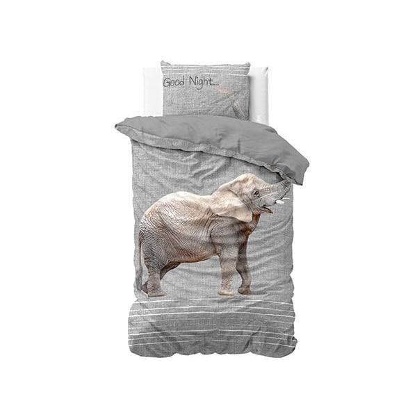 Bäddset Påslakan - Elefant Grey