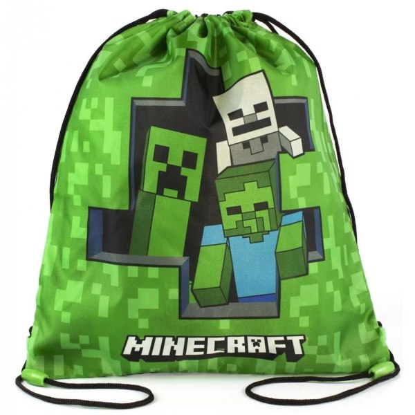 Gympapåse Minecraft Grön