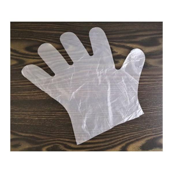 100-Pack - Engångshandskar / Plasthandskar - Handskar i Plast