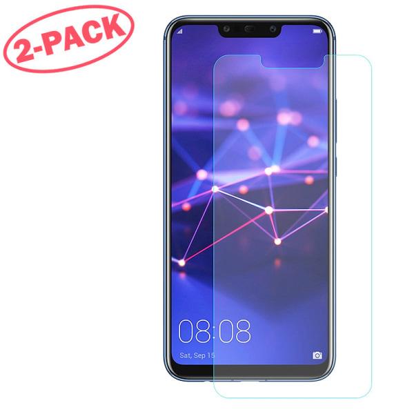 2-Pack Skärmskydd - Huawei Mate 20 Lite - Härdat Glas