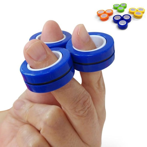 7-Pack Fidget Toys - Pop It, Stressboll, Magnetiska Ringar m.m.