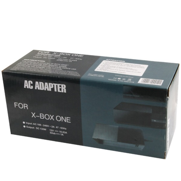 AC Adapter för Microsoft Xbox One