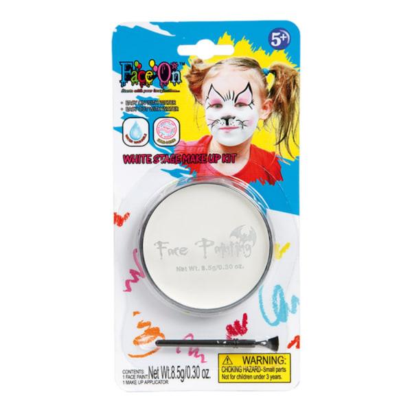 Ansiktsfärg / Smink Barn 10g - Vit - Halloween & Maskerad Vit