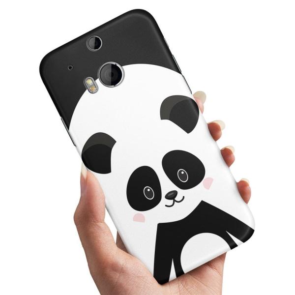HTC One M8 - Skal / Mobilskal Cute Panda