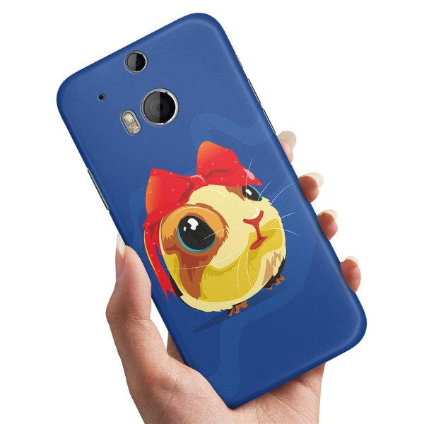 HTC One M8 - Skal / Mobilskal Marsvin