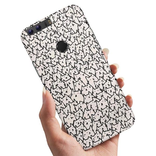 Huawei Honor 8 - Skal / Mobilskal Kattgrupp