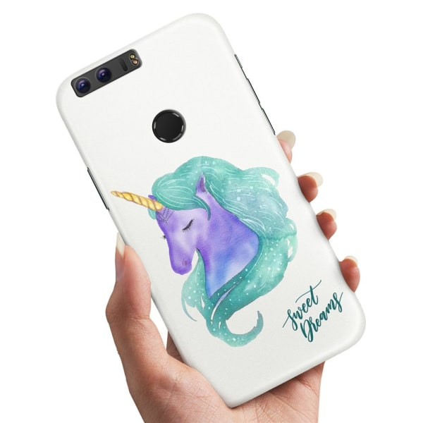 Huawei Honor 8 - Skal / Mobilskal Sweet Dreams Pony