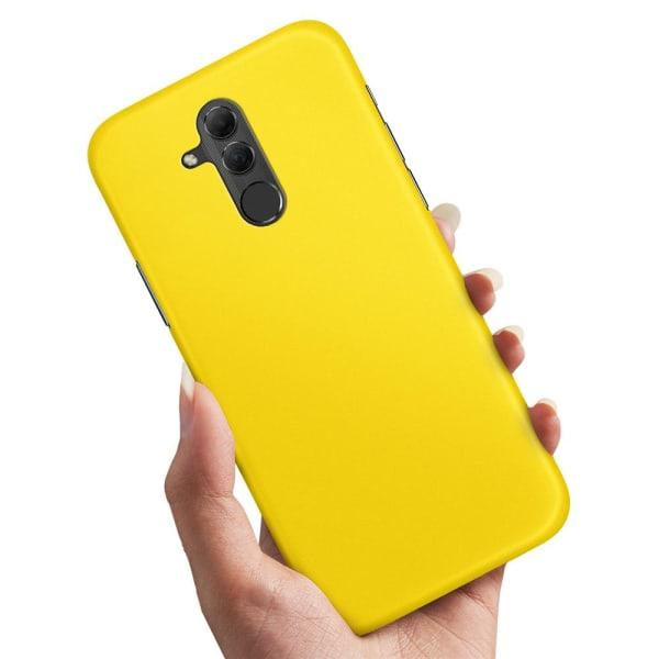 Huawei Mate 20 Lite - Skal / Mobilskal Gul