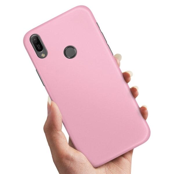 Huawei Y6 (2019) - Skal / Mobilskal Ljusrosa
