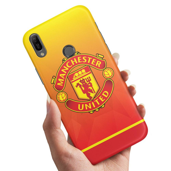 Huawei Y6 (2019) - Skal / Mobilskal Manchester United