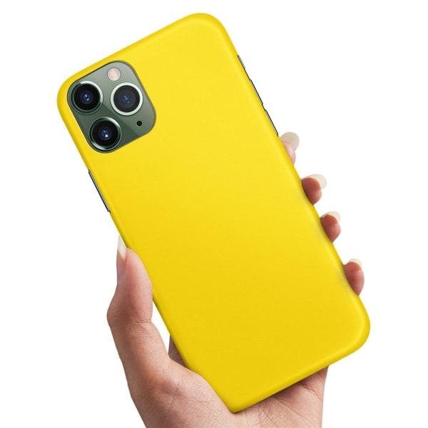 iPhone 12 Mini - Skal / Mobilskal Gul