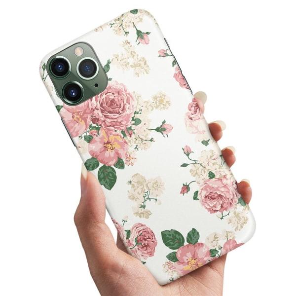 iPhone 12 - Skal / Mobilskal Retro Blommor