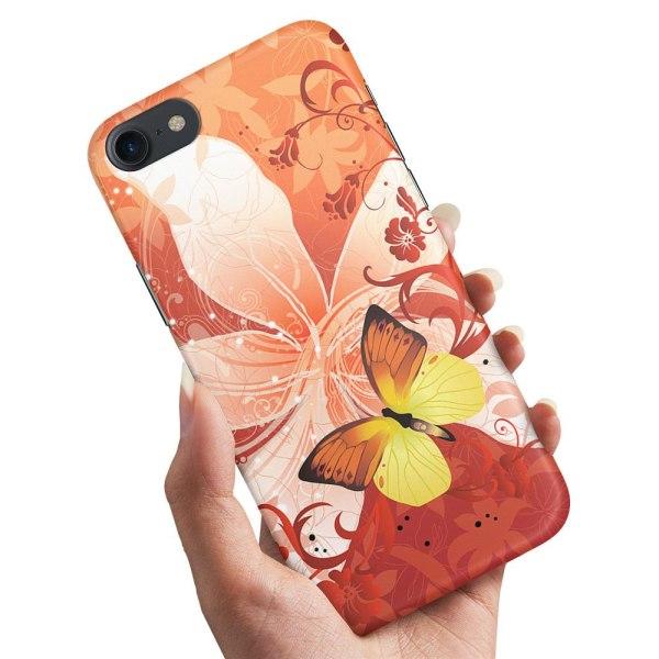 iPhone 6/6s - Skal / Mobilskal Fjäril & Blomma